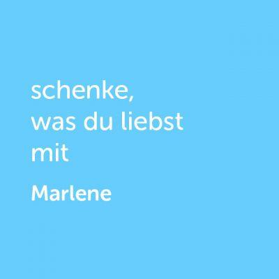 Partner-Wertgutschein: schenke, was du liebst mit Dinner for Two Marlene - Platzhalter blau