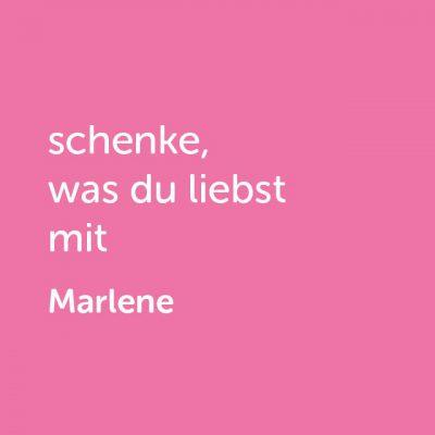 Partner-Wertgutschein: schenke, was du liebst mit Mädelsabend Marlene - Platzhalter rot