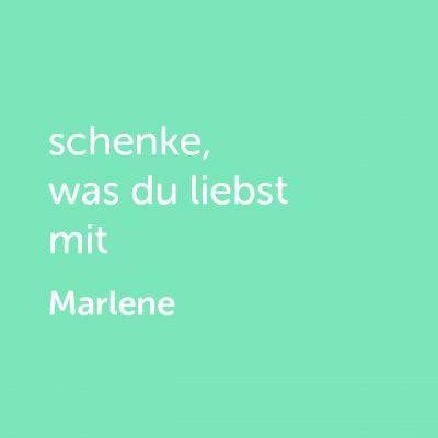 Partner-Wertgutschein: schenke, was du liebst mit Probierpaket Marlene - Platzhalter grün