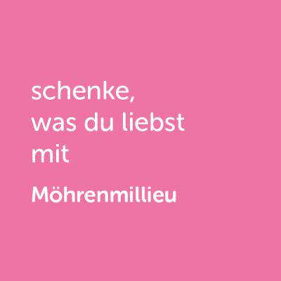 Partner-Wertgutschein: schenke, was du liebst mit Möhren Millieu - Platzhalter rot