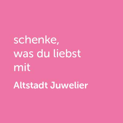Partner-Wertgutschein: schenke, was du liebst mit Altstadt Juwelier - Platzhalter rot