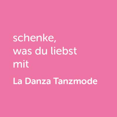 Partner-Wertgutschein: schenke, was du liebst mit La Danza Tanzmode - Platzhalter rot