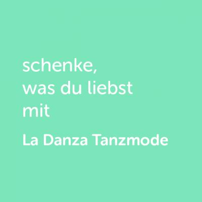 Partner-Wertgutschein: schenke, was du liebst mit La Danza Tanzmode - Platzhalter grün