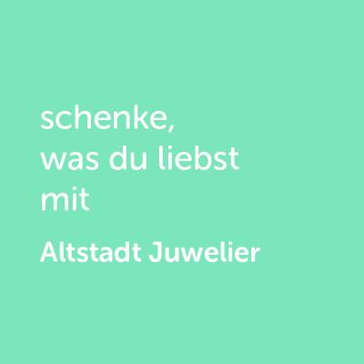 Partner-Wertgutschein: schenke, was du liebst mit Altstadt Juwelier - Platzhalter grün