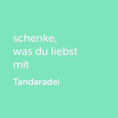 Partner-Wertgutschein: schenke, was du liebst mit Tandaradei - Platzhalter grün