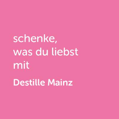 Partner-Wertgutschein: schenke, was du liebst mit Destille Mainz- Platzhalter rot