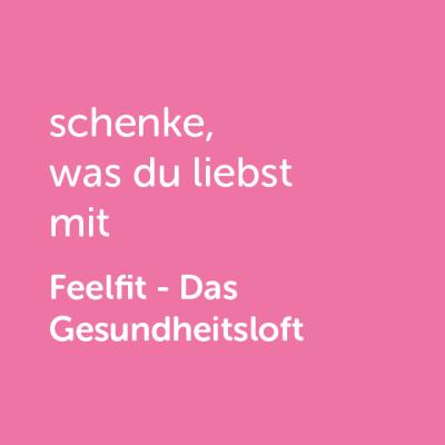 Partner-Wertgutschein: schenke, was du liebst mit Feelfit- Platzhalter rot