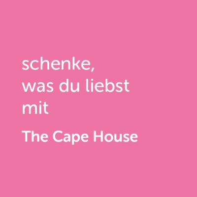 Partner-Wertgutschein: schenke, was du liebst mit The Cape House - Platzhalter rot