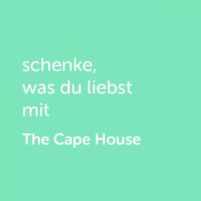 Partner-Wertgutschein: schenke, was du liebst mit The Cape House - Platzhalter grün