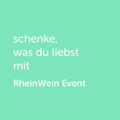 Partner-Wertgutschein: schenke, was du liebst mit Rhein Wein Event - Platzhalter grün
