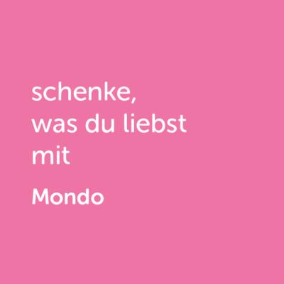 Partner-Wertgutschein: schenke, was du liebst mit Mondo - Platzhalter rot