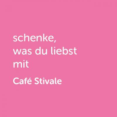Partner-Wertgutschein: schenke, was du liebst mit Café Stivale - Platzhalter rot