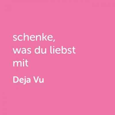Partner-Wertgutschein: schenke, was du liebst mit Deja Vu - Platzhalter rot