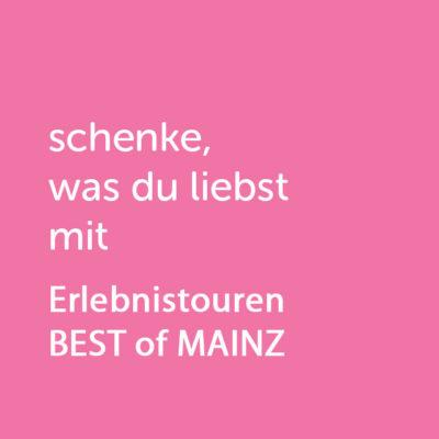 Partner-Wertgutschein: schenke, was du liebst mit Erlebnistouren BEST of MAINZ - Platzhalter rot