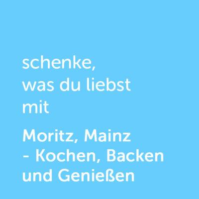 Partner-Wertgutschein: schenke, was du liebst mit Moritz, Mainz - Platzhalter blau