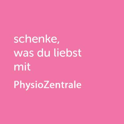 Partner-Wertgutschein: schenke, was du liebst mit PhysioZentrale - Platzhalter rot