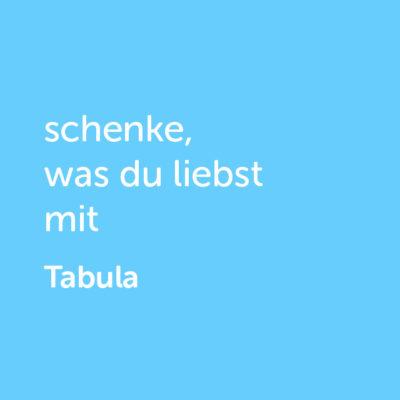 tabula-shop3Partner-Wertgutschein: schenke, was du liebst mit Tabula - Platzhalter blau