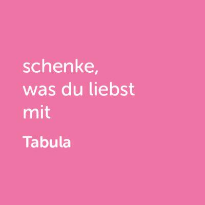 tabula-shop3Partner-Wertgutschein: schenke, was du liebst mit Tabula - Platzhalter rot