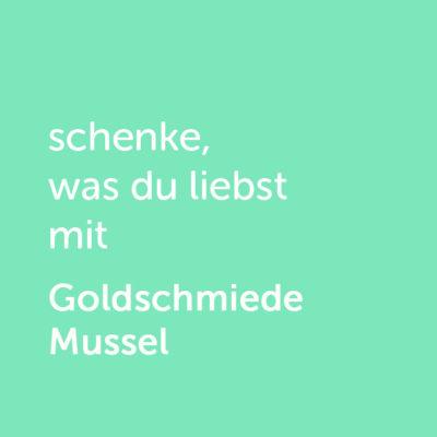 artner-Wertgutschein: schenke, was du liebst mit Goldschmiede Mussel - Platzhalter grün