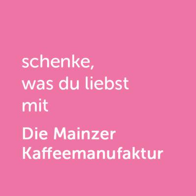 Partner-Wertgutschein: schenke, was du liebst mit Mainzer Kaffeemanufaktur - Platzhalter rot