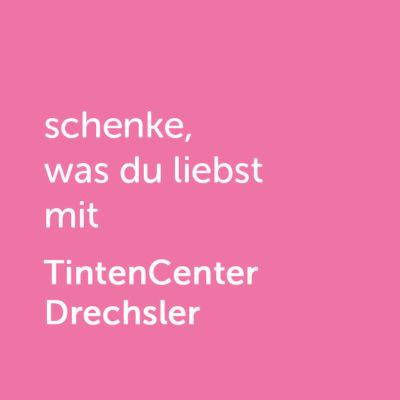 Partner-Wertgutschein: schenke, was du liebst mit Tintencenter Drechsler - Platzhalter rot