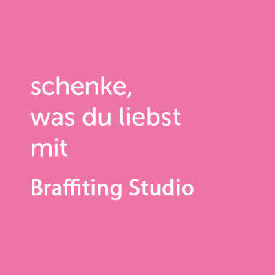 Partner-Wertgutschein: schenke, was du liebst mit Brafittingstudio - Platzhalter rot