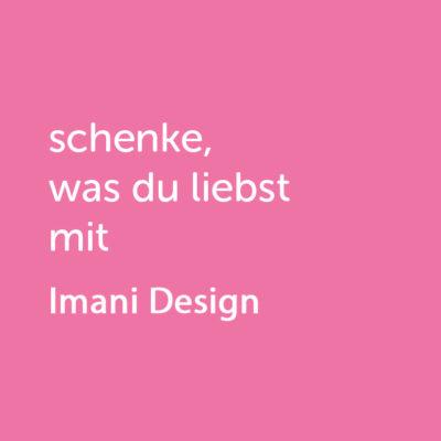 Partner-Wertgutschein: schenke, was du liebst mit Imani Design - Platzhalter ro