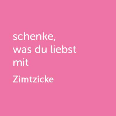 Partner-Wertgutschein: schenke, was du liebst mit Zimtzicke - Platzhalter rot