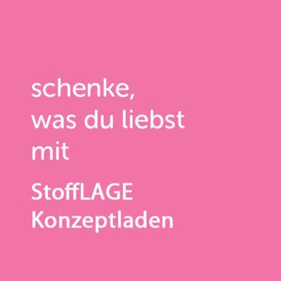 Partner-Wertgutschein: schenke, was du liebst mit StoffLAGE - Platzhalter rot