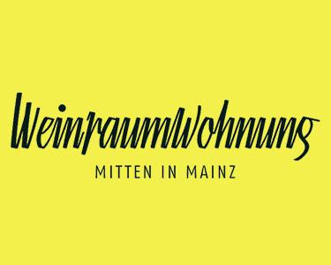 Logo Weinraumwohnung, Mainz