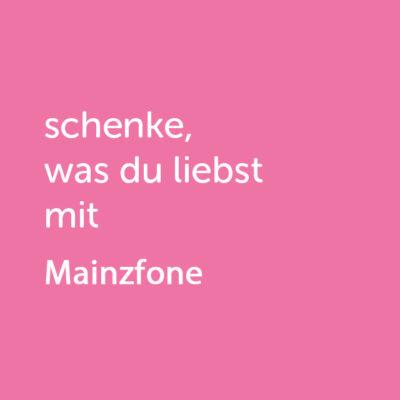 Partner-Wertgutschein: schenke, was du liebst mit Mainzfone - Platzhalter rot