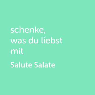 Partner-Wertgutschein: schenke, was du liebst mit Salute Salate - Platzhalter grün
