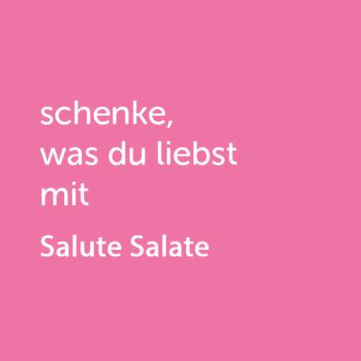 Partner-Wertgutschein: schenke, was du liebst mit Salute Salate - Platzhalter rot