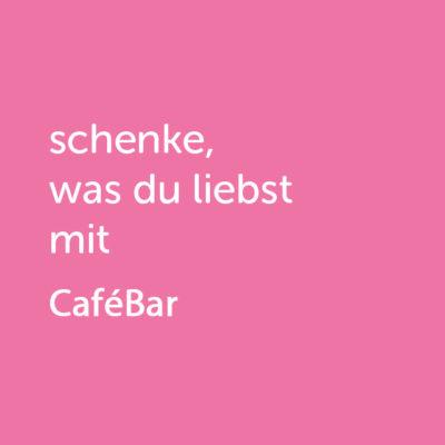 Partner-Wertgutschein: schenke, was du liebst mit Cafébar - Platzhalter rot