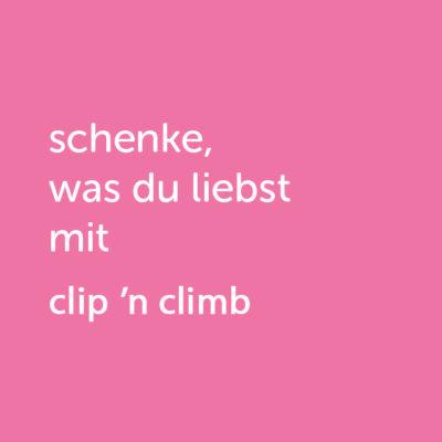 Partner-Wertgutschein: schenke, was du liebst mit Clip 'n Climb - Platzhalter rot