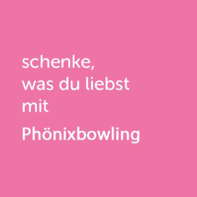 Partner-Wertgutschein: schenke, was du liebst mit Phönixbowling - Platzhalter rot