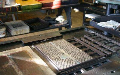 Der Druckladen im Gutenberg-Museum