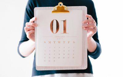 Der Januar und die guten Vorsätze